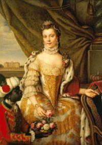 Princess Charlotte by Johann Georg Ziesenis, c. 1761