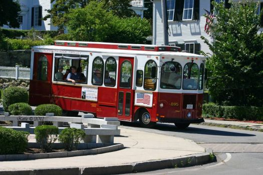 Plymouth Rock Trolley