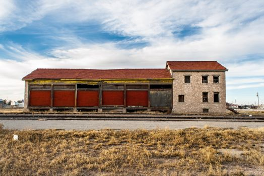Fort Stockton Train Depot