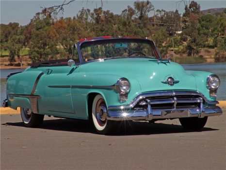 1952 OLDSMOBILE 88 CONVERTIBLE