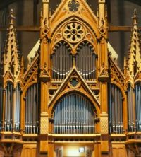 Bergen Cathedral pipe organ (Norway)