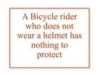Thought of the Day: Bicycle Rider