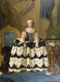 Portrait of Louisa Ulrika of Prussia (1720-1782) as Queen-Dowager