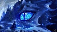 Blue dragpn