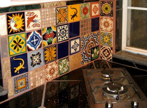 Mexican Kitchen Tiles