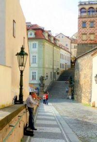 Prague violinist