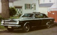 My 1964 Dodge Dart GT with HP 273 and Hurst 4 on the floor