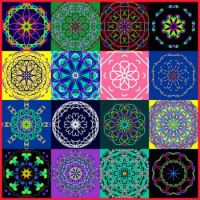 Colorful Kaleidos Collage: Smallest