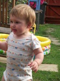 my determined little grandson!