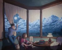 Rob Gonsalves Optical Illusion #2