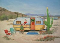 christmas in the desert