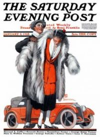 Norman Rockwell  'The Fur Coat'  1918