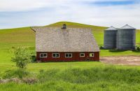 AGING RED BARN