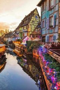 Reflections of Colmar