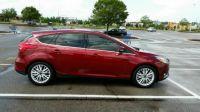 2015 Ford Focus Titanium Side View  Tinted Windows 5-31-2015