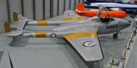 De Havilland Sea Vampire T.22. Fleet Air Arm Museum, Nowra, NSW, Australia.