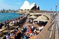 Sydney Opera House, Sydney Harbour, NSW, Australia