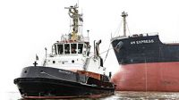 "Tug ""Bugsier 7"" working ""AM Express""!!"