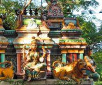 street temple in Chennai