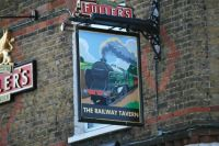 The Railway Tavern near Carshalton station