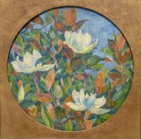 Magnolias, one of his rare flower compositions - 1910