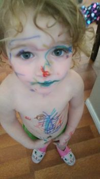 arianna full of markers