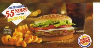 The Whopper Now 55 Years