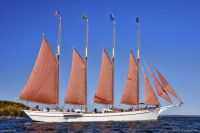 Beautiful Maine   4 masted schooneer margaret todd