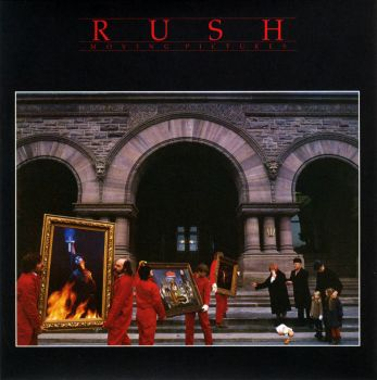 RUSH - Moving Pictures Album Cover