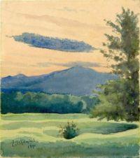 Green Meadow, Louis Michel Eilshemius, 1891