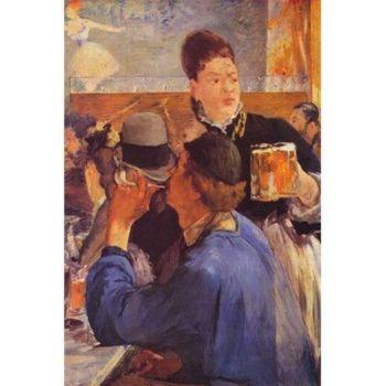Beer Waitress  Eduardo Manet