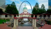 St. Louis summer scene
