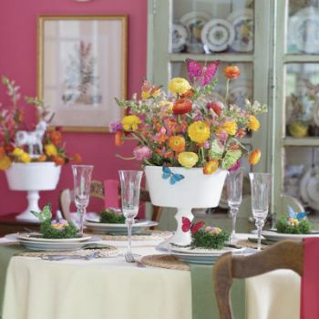 Spring Dining Decor: Brunch Anyone?