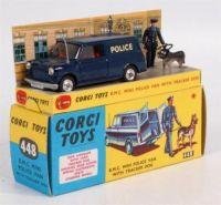 CORGI TOYS - B.M.C. MINI POLICE VAN WITH TRACKER DOG