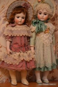 Beauties From The Past ~ Bru Reproductions by Jamie Englert / Vintage Antique