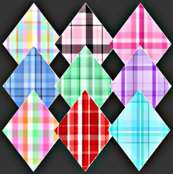 Diamond Plaids - small