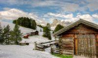 Pralongia Winter - Italian Dolomites