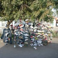 Shoe tree in Tanzania