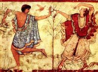 Dancers in the Tomb of the Triclinium