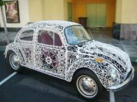 Wrought iron VW!  bandit