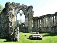 Ruins of Netley Abbey.