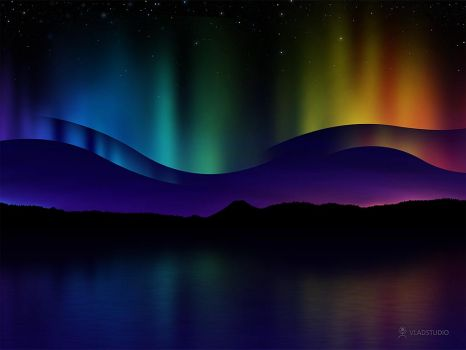 the breathtaking Northern Lights