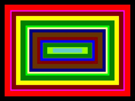 Concentric Rectangles 588