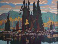 'Isles of Spruce'    Arthur Lismer