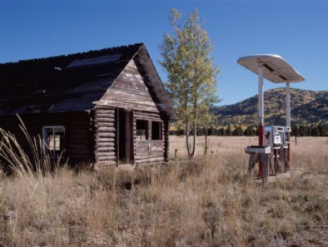 Abandoned Gas Station near Flagstaff, Arizona