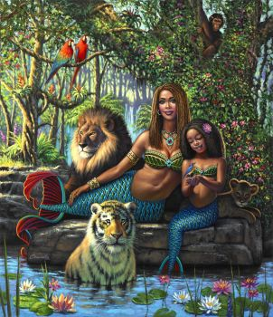 Jungle Mermaid Queens