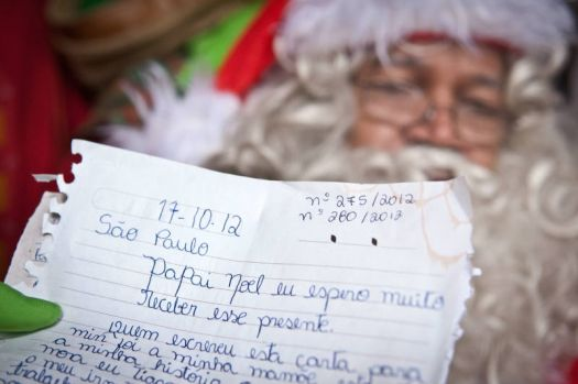 Adopt a Santa's letter