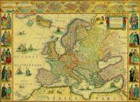 Maps - Europa recens descripta - Guilielmo Blaeuw 1660