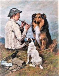 Shepherd and Dogs (1906)