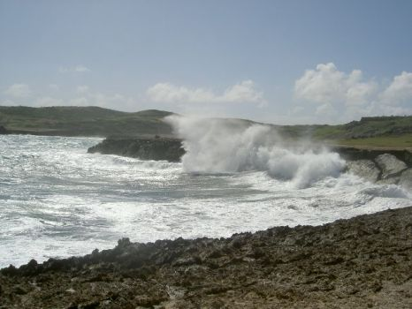 Rough sea - Aruba